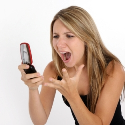 telemarketers calling mobile phone